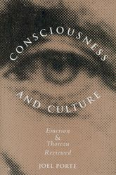 Consciousness and CultureEmerson and Thoreau Reviewed